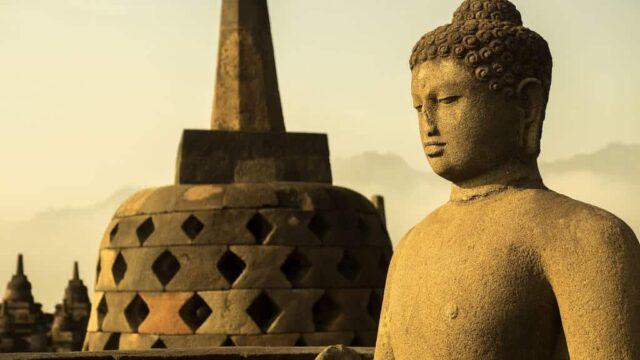 ジョグジャカルタのボロブドゥール遺跡