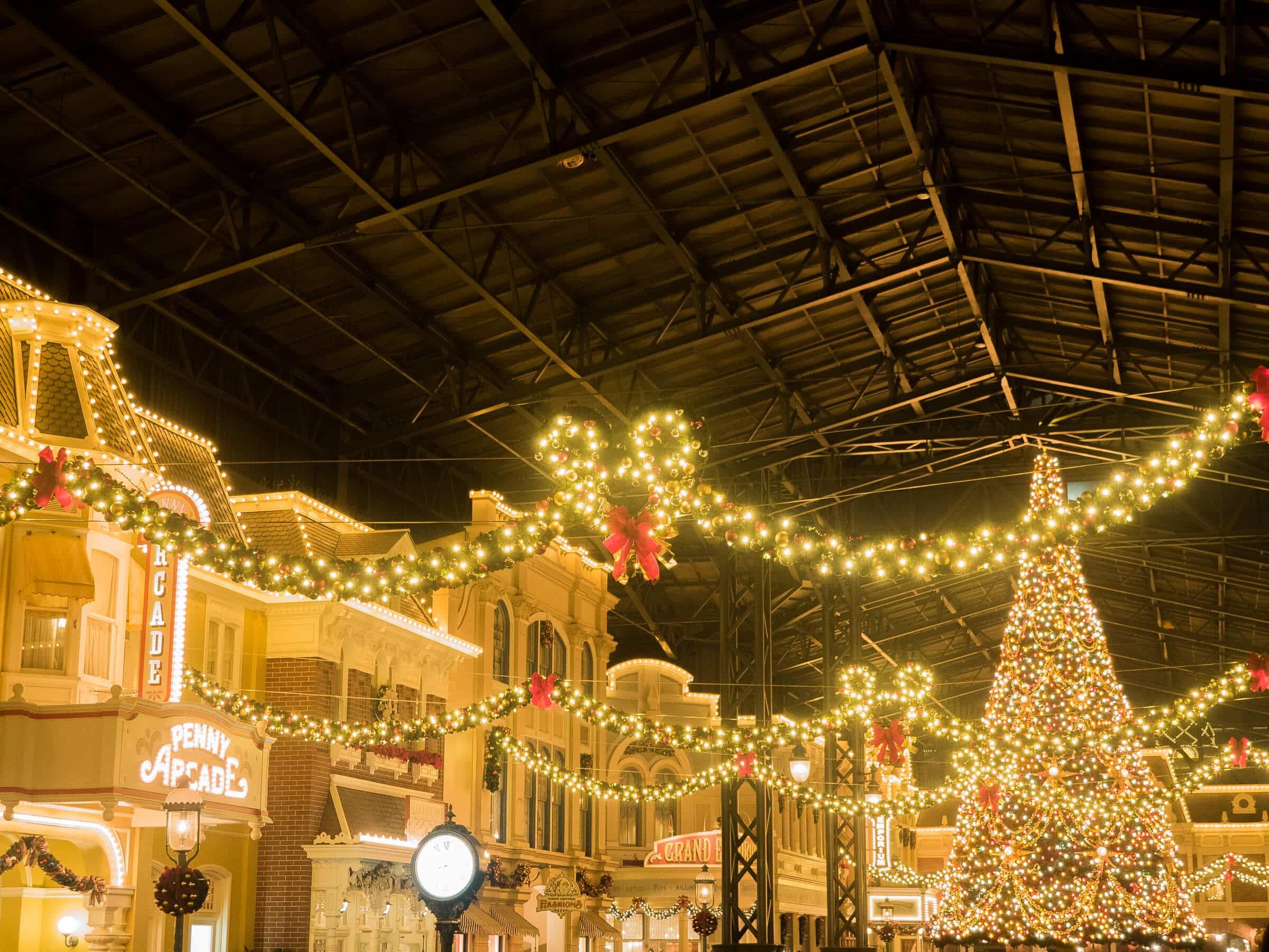 東京ディズニーランドのクリスマスツリーを見に行ってきた!