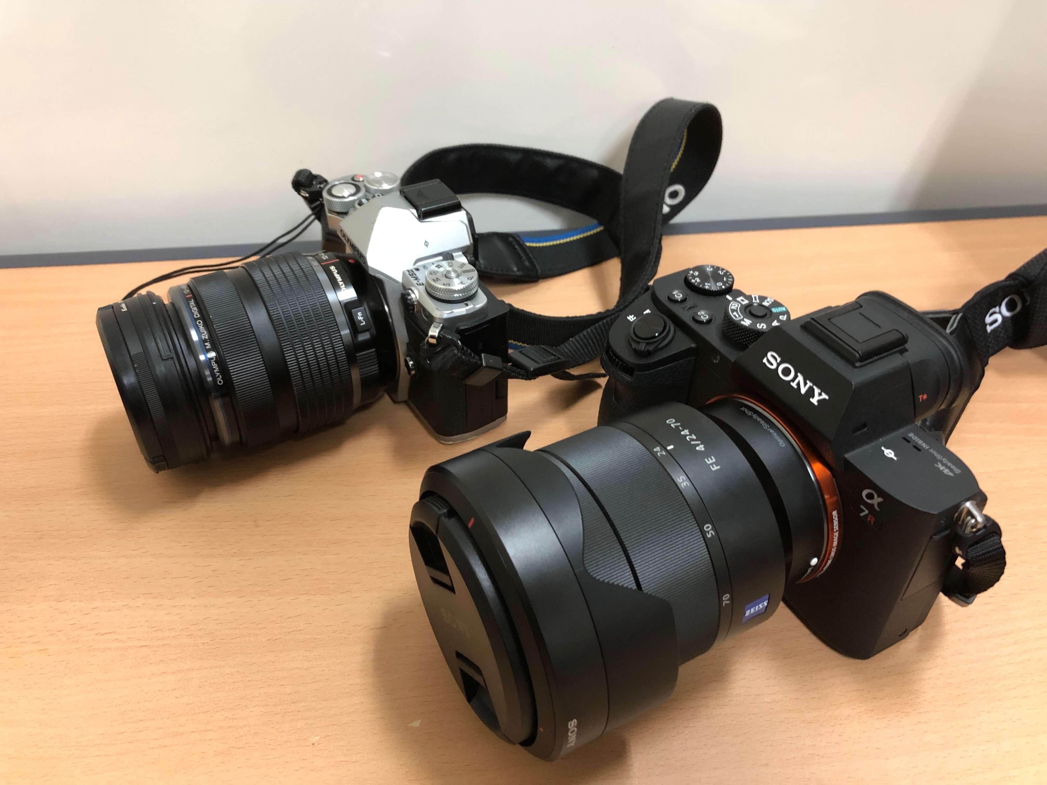 旅行にはフルサイズorマイクロフォーサーズ?どっちのミラーレスカメラがおすすめ??