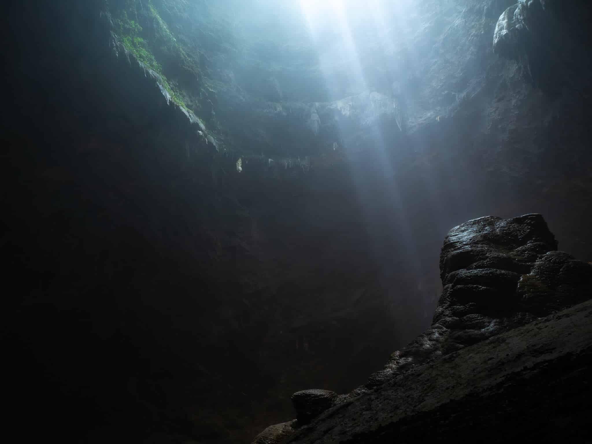 ジョンブラン洞窟