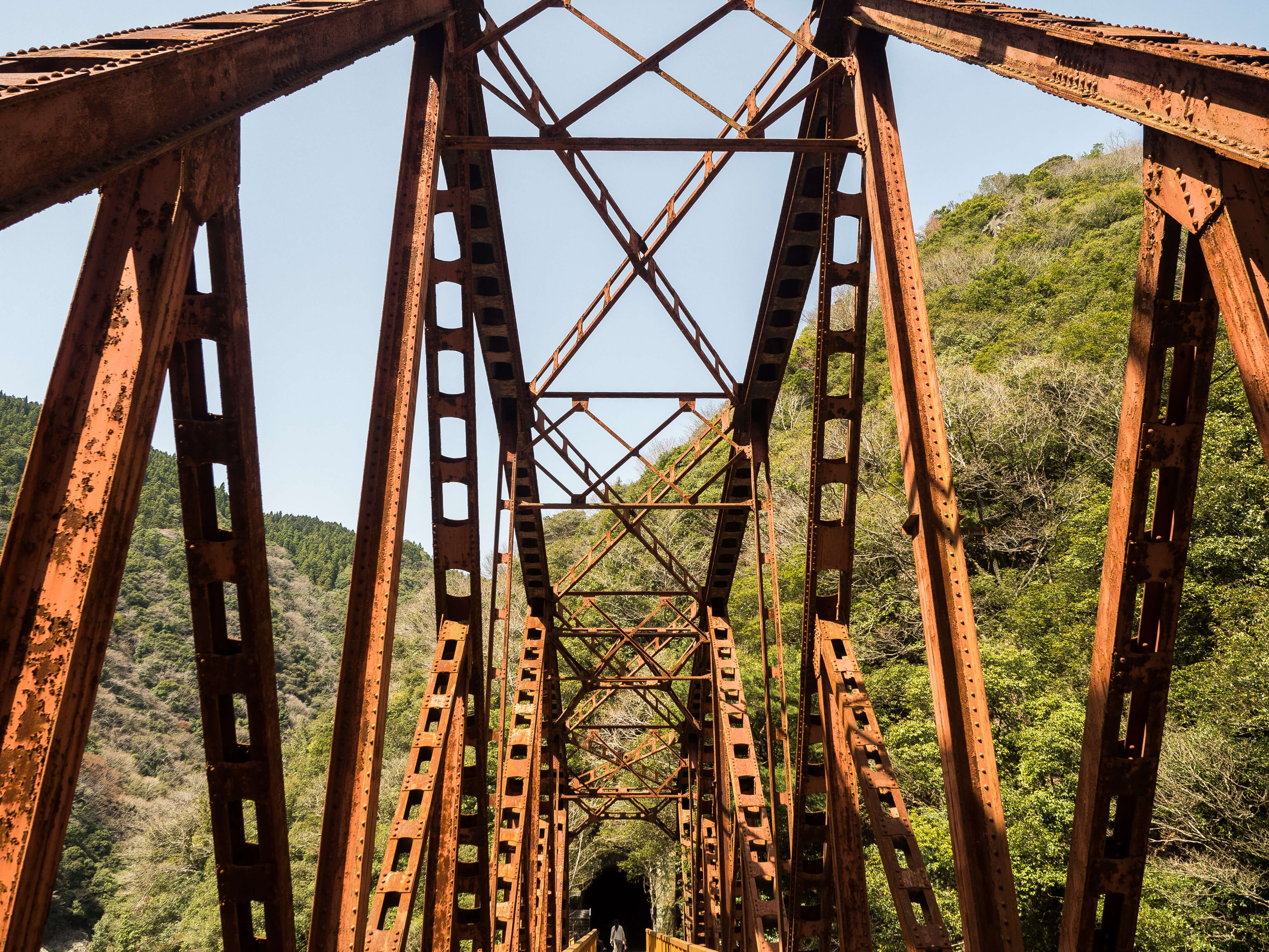 武庫川渓谷の橋梁