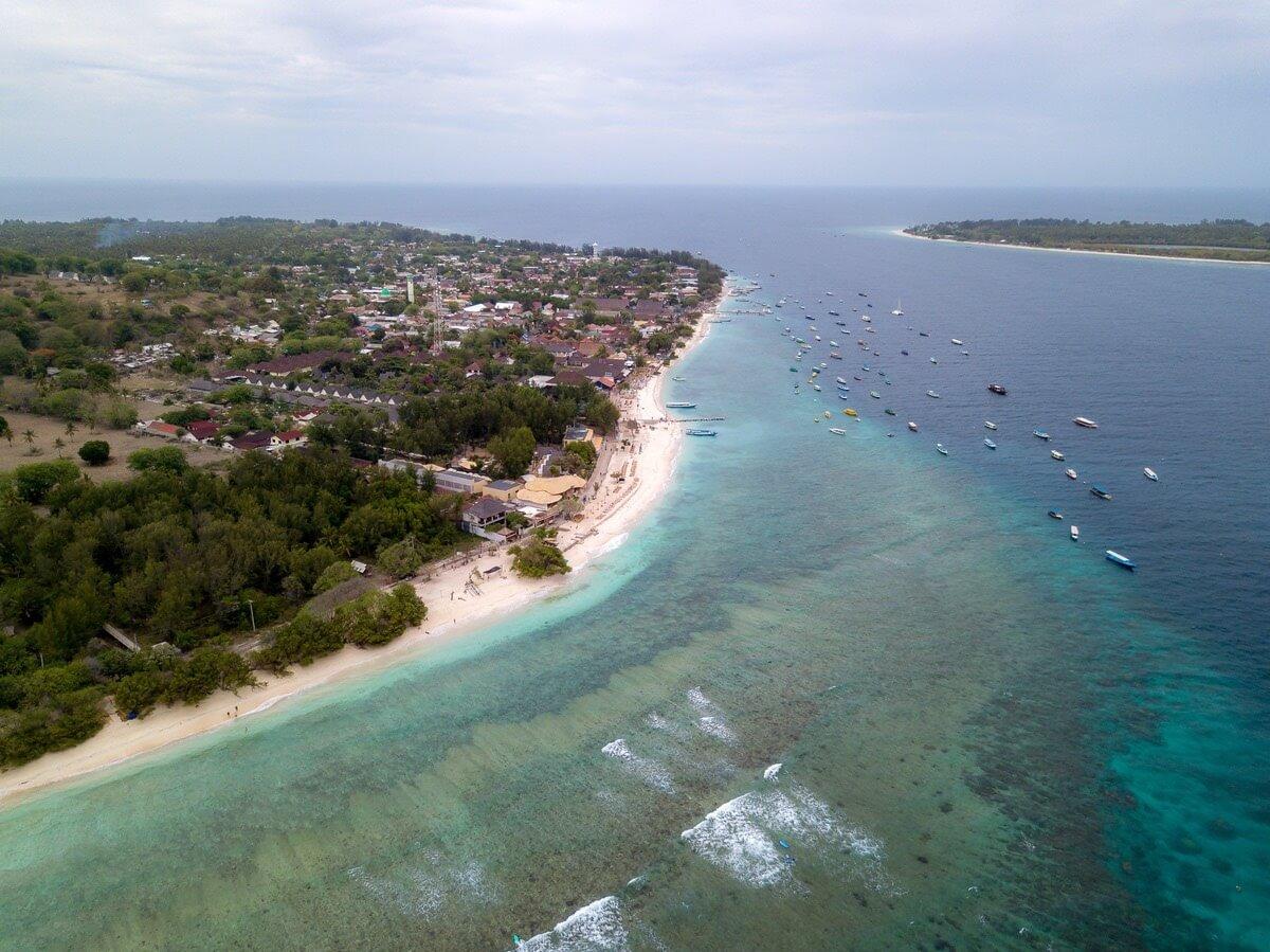 【インドネシア】バリ島から簡単に行ける!バリ島からギリ島への行き方!